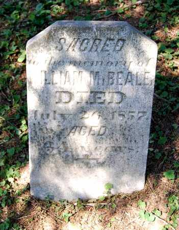 BEALE, WILLIAM M. - Juniata County, Pennsylvania | WILLIAM M. BEALE - Pennsylvania Gravestone Photos