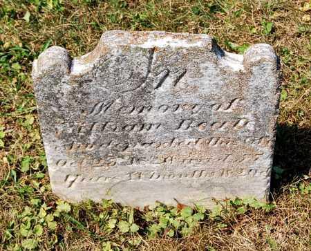 BEALE, WILLIAM - Juniata County, Pennsylvania   WILLIAM BEALE - Pennsylvania Gravestone Photos