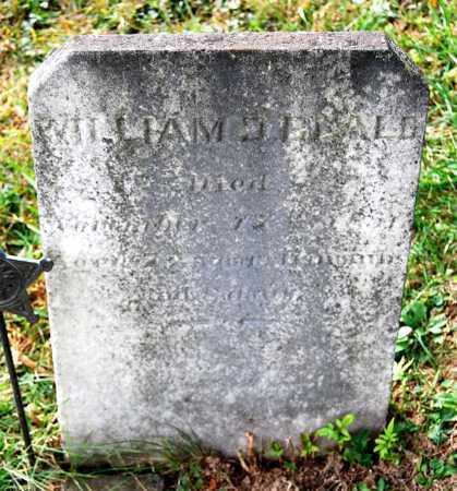 BEALE, WILLIAM D. - Juniata County, Pennsylvania | WILLIAM D. BEALE - Pennsylvania Gravestone Photos