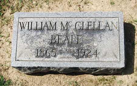 "BEALE, WILLIAM MCCLELLAN ""CELL"" - Juniata County, Pennsylvania | WILLIAM MCCLELLAN ""CELL"" BEALE - Pennsylvania Gravestone Photos"