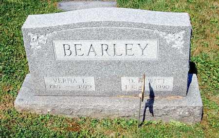 BEARLEY, D. DEWITT - Juniata County, Pennsylvania | D. DEWITT BEARLEY - Pennsylvania Gravestone Photos