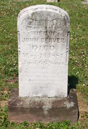 BEAVER, EVALINE - Juniata County, Pennsylvania | EVALINE BEAVER - Pennsylvania Gravestone Photos