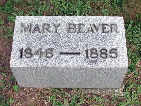 BEAVER, MARY - Juniata County, Pennsylvania | MARY BEAVER - Pennsylvania Gravestone Photos
