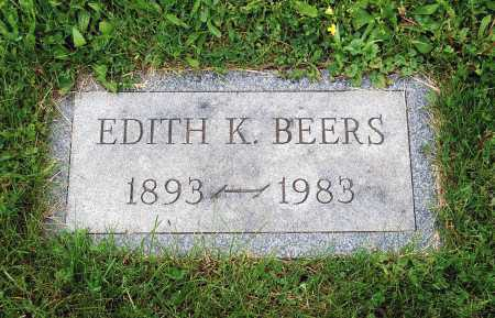 BEERS, EDITH - Juniata County, Pennsylvania | EDITH BEERS - Pennsylvania Gravestone Photos