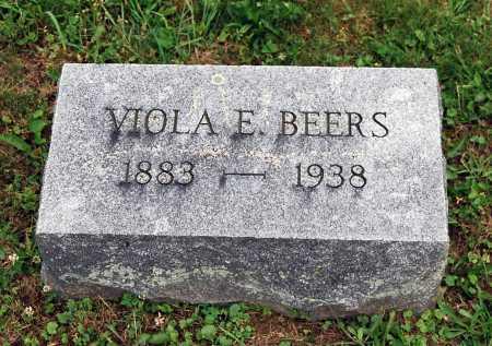 BEERS, VIOLA E. - Juniata County, Pennsylvania | VIOLA E. BEERS - Pennsylvania Gravestone Photos