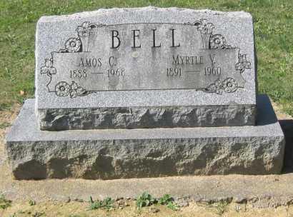 BELL, AMOS C. - Juniata County, Pennsylvania | AMOS C. BELL - Pennsylvania Gravestone Photos
