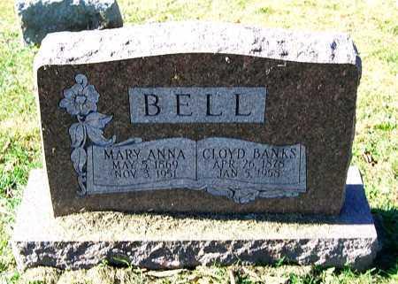 BELL, CLOYD BANKS - Juniata County, Pennsylvania   CLOYD BANKS BELL - Pennsylvania Gravestone Photos