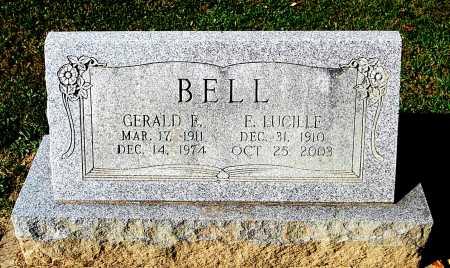 BELL, E. LUCILLE - Juniata County, Pennsylvania | E. LUCILLE BELL - Pennsylvania Gravestone Photos