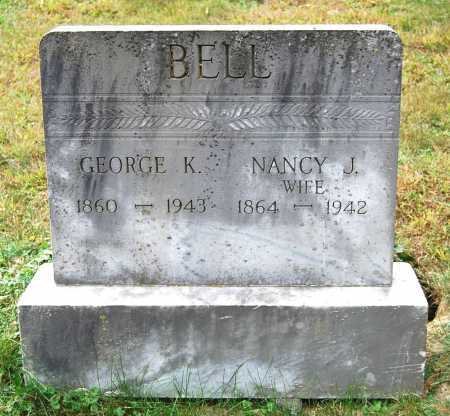 BELL, GEORGE KELLEY KAFFMAN - Juniata County, Pennsylvania | GEORGE KELLEY KAFFMAN BELL - Pennsylvania Gravestone Photos