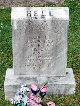 BELL, NORA S. - Juniata County, Pennsylvania | NORA S. BELL - Pennsylvania Gravestone Photos