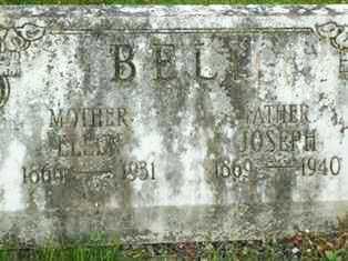 BELL, ELLEN - Juniata County, Pennsylvania | ELLEN BELL - Pennsylvania Gravestone Photos