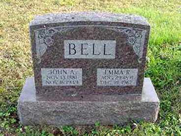 BELL, EMMA R. - Juniata County, Pennsylvania | EMMA R. BELL - Pennsylvania Gravestone Photos