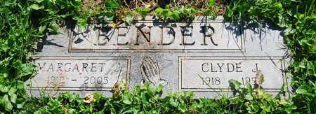 BENDER, CLYDE J. - Juniata County, Pennsylvania | CLYDE J. BENDER - Pennsylvania Gravestone Photos