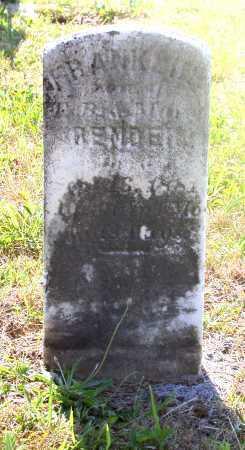 BENDER, FRANKLIN - Juniata County, Pennsylvania | FRANKLIN BENDER - Pennsylvania Gravestone Photos
