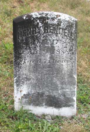 BENDER, HENRY - Juniata County, Pennsylvania   HENRY BENDER - Pennsylvania Gravestone Photos