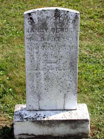 BENDER, NANCY - Juniata County, Pennsylvania | NANCY BENDER - Pennsylvania Gravestone Photos