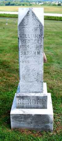 BENDER, SARAH M. - Juniata County, Pennsylvania | SARAH M. BENDER - Pennsylvania Gravestone Photos