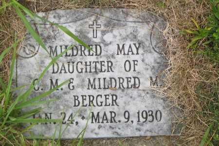 BERGER, MILDRED M. - Juniata County, Pennsylvania | MILDRED M. BERGER - Pennsylvania Gravestone Photos
