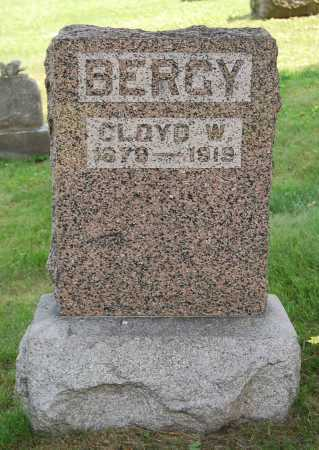 BERGY, CLOYD W. - Juniata County, Pennsylvania | CLOYD W. BERGY - Pennsylvania Gravestone Photos