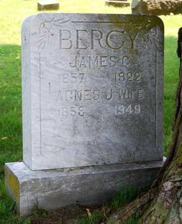 BERGY, AGNES J. - Juniata County, Pennsylvania | AGNES J. BERGY - Pennsylvania Gravestone Photos