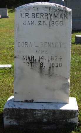 BERRYMAN, DORA L. - Juniata County, Pennsylvania | DORA L. BERRYMAN - Pennsylvania Gravestone Photos