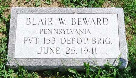 BEWARD, BLAIR W. - Juniata County, Pennsylvania | BLAIR W. BEWARD - Pennsylvania Gravestone Photos