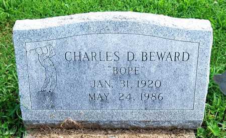 "BEWARD, CHARLES D. ""BOPE"" - Juniata County, Pennsylvania | CHARLES D. ""BOPE"" BEWARD - Pennsylvania Gravestone Photos"