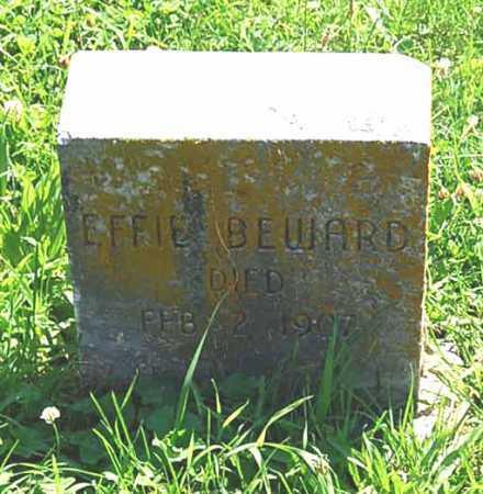 BEWARD, EFFIE - Juniata County, Pennsylvania | EFFIE BEWARD - Pennsylvania Gravestone Photos