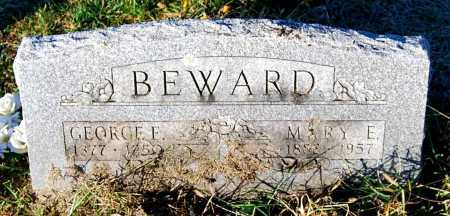 BEWARD, MARY E. - Juniata County, Pennsylvania | MARY E. BEWARD - Pennsylvania Gravestone Photos