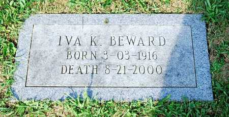 BEWARD, IVA K. - Juniata County, Pennsylvania   IVA K. BEWARD - Pennsylvania Gravestone Photos