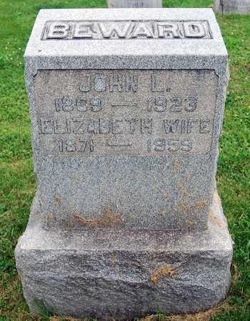 BEWARD, ELIZABETH - Juniata County, Pennsylvania   ELIZABETH BEWARD - Pennsylvania Gravestone Photos