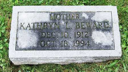 BEWARD, KATHRYN L. - Juniata County, Pennsylvania | KATHRYN L. BEWARD - Pennsylvania Gravestone Photos