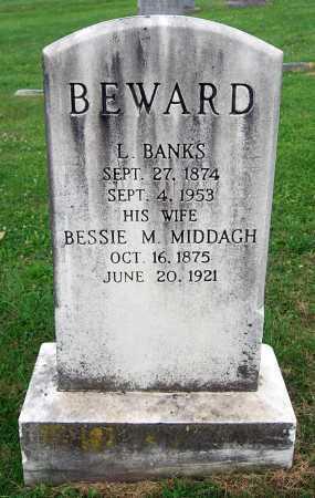 BEWARD, BESSIE MAY - Juniata County, Pennsylvania | BESSIE MAY BEWARD - Pennsylvania Gravestone Photos