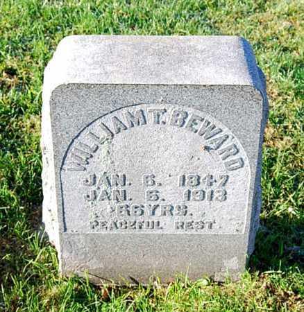 BEWARD, WILLIAM T. - Juniata County, Pennsylvania   WILLIAM T. BEWARD - Pennsylvania Gravestone Photos