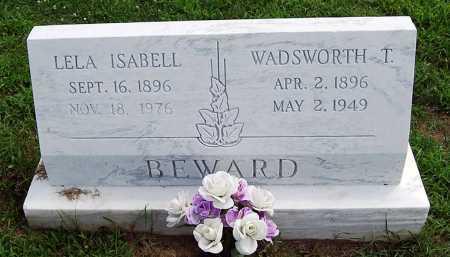BEWARD, WADSWORTH T. - Juniata County, Pennsylvania | WADSWORTH T. BEWARD - Pennsylvania Gravestone Photos