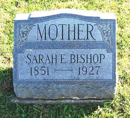 BISHOP, SARAH E. - Juniata County, Pennsylvania | SARAH E. BISHOP - Pennsylvania Gravestone Photos