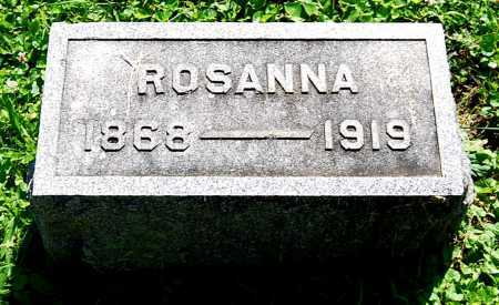 BITNER, ROSANNA - Juniata County, Pennsylvania | ROSANNA BITNER - Pennsylvania Gravestone Photos