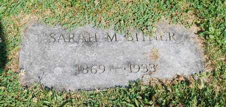 ALLEN BITNER, SARAH M. - Juniata County, Pennsylvania   SARAH M. ALLEN BITNER - Pennsylvania Gravestone Photos