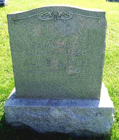 BITNER, ALICE S. - Juniata County, Pennsylvania | ALICE S. BITNER - Pennsylvania Gravestone Photos