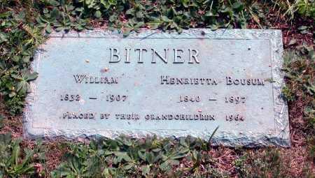 BITNER, WILLIAM - Juniata County, Pennsylvania | WILLIAM BITNER - Pennsylvania Gravestone Photos