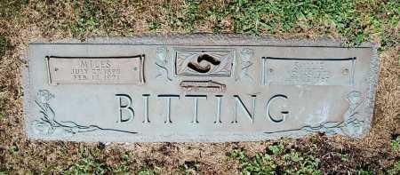 SHETTERLY BITTING, SALLIE - Juniata County, Pennsylvania | SALLIE SHETTERLY BITTING - Pennsylvania Gravestone Photos
