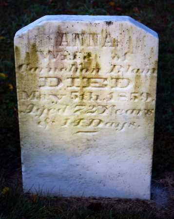 BREESE BLAIN, ANNA - Juniata County, Pennsylvania   ANNA BREESE BLAIN - Pennsylvania Gravestone Photos