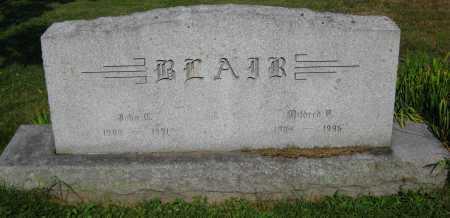 BLAIR, JOHN C. - Juniata County, Pennsylvania | JOHN C. BLAIR - Pennsylvania Gravestone Photos
