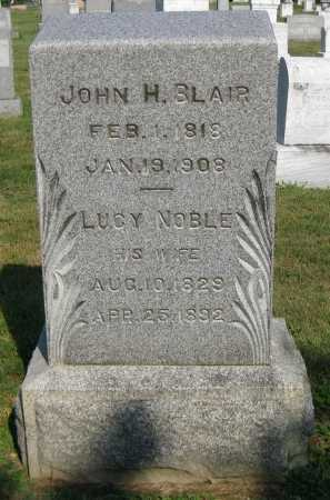 BLAIR, LUCY - Juniata County, Pennsylvania | LUCY BLAIR - Pennsylvania Gravestone Photos