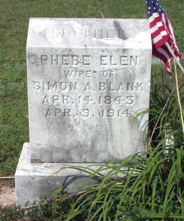 BLANK, PHOEBE ELLEN - Juniata County, Pennsylvania   PHOEBE ELLEN BLANK - Pennsylvania Gravestone Photos