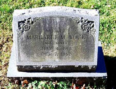 CASNER BOCK, MARGARET M. - Juniata County, Pennsylvania   MARGARET M. CASNER BOCK - Pennsylvania Gravestone Photos