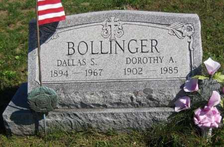 BOLLINGER, DALLAS S. - Juniata County, Pennsylvania | DALLAS S. BOLLINGER - Pennsylvania Gravestone Photos