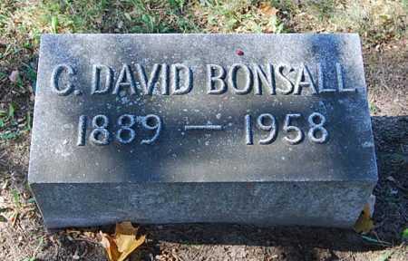 BONSALL, CHARLES DAVID - Juniata County, Pennsylvania | CHARLES DAVID BONSALL - Pennsylvania Gravestone Photos