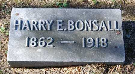 BONSALL, HARRY ELLSWORTH - Juniata County, Pennsylvania | HARRY ELLSWORTH BONSALL - Pennsylvania Gravestone Photos