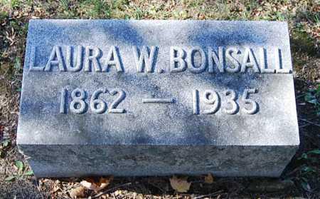 BONSALL, LAURA ALICE - Juniata County, Pennsylvania   LAURA ALICE BONSALL - Pennsylvania Gravestone Photos